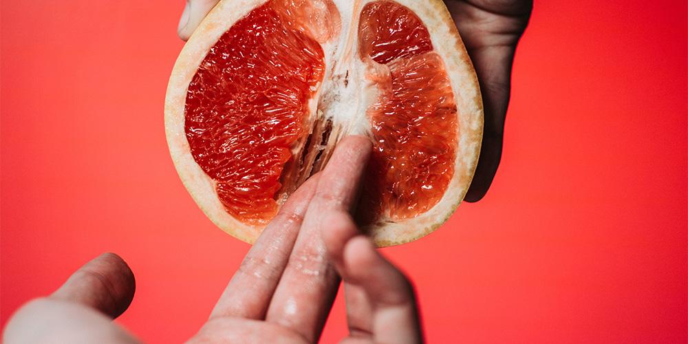 グレープフルーツと指