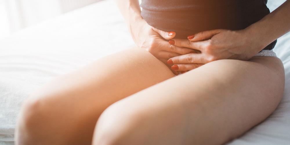 下腹部の痛みのイメージ